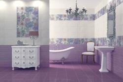 Напольный кафель в ванной