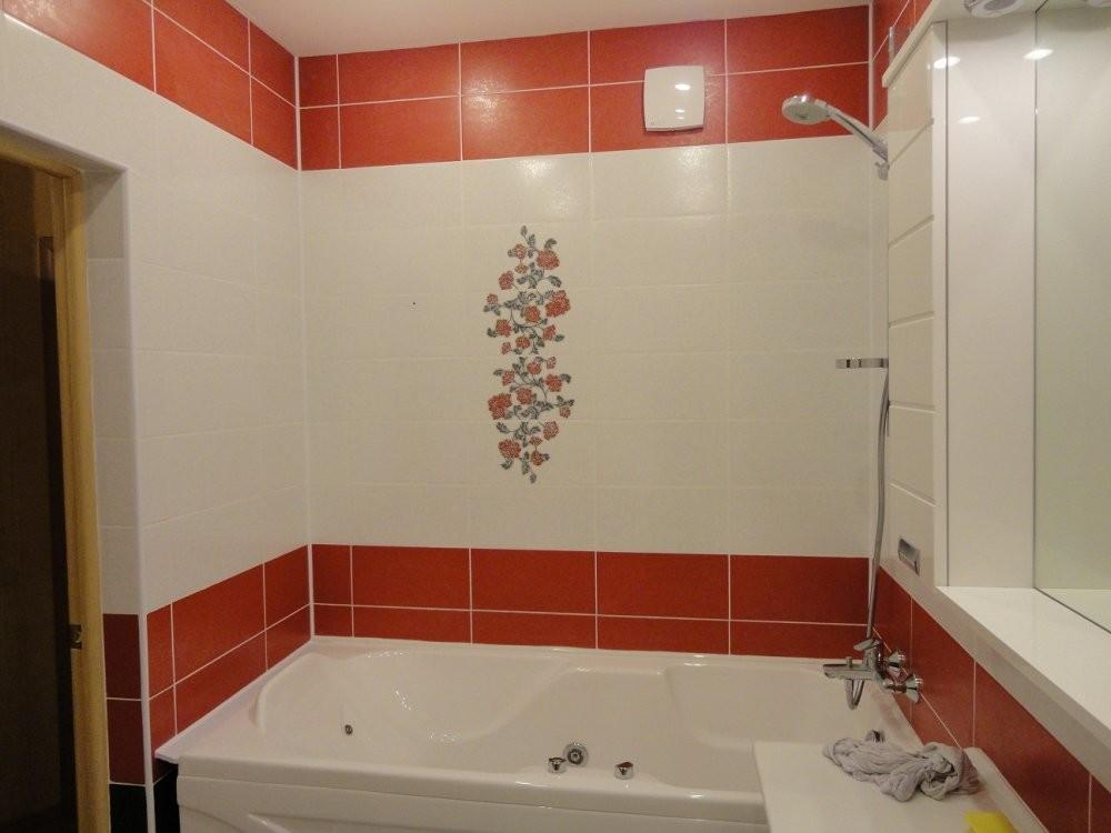 Укладка кафеля в ванной
