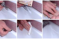 Этапы реставрации ванны эмалью