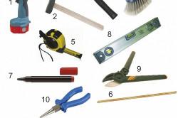 Инструменты для монтажа душевой кабины