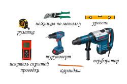 Инструменты для монтажа накопительного водонагревателя