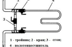 Монтаж тройника