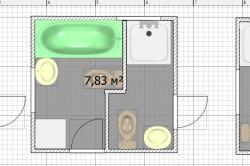 Примеры планировки ванной и санузла на даче