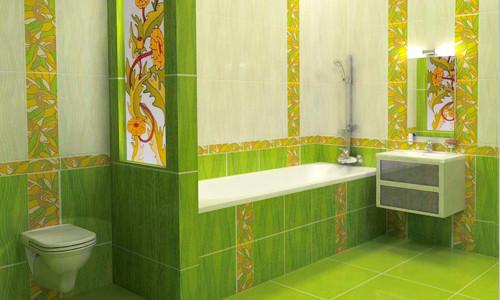 Ванная комната отделанная плиткой