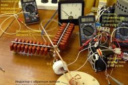 Соединение элементов для индукционного нагревателя