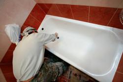 Реставрация ванны эмалировкой