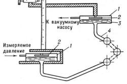Схема переносного манометра