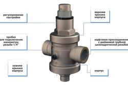 Схема регулятора давления воды