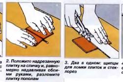 Разрезание плитки