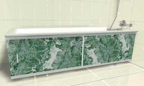 Ванная с экраном