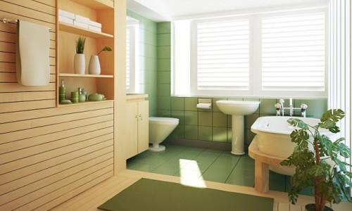 Отделка ванной комнаты пластиком