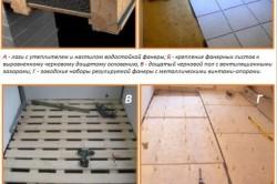 Подготовка деревянного пола к укладке напольной плитки