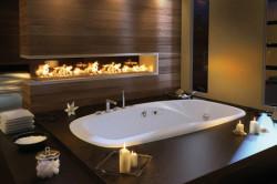 Скрытая чугунная ванна