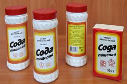 Сода для борьбы с засором унитаза