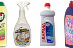 Средства для очистки ванны