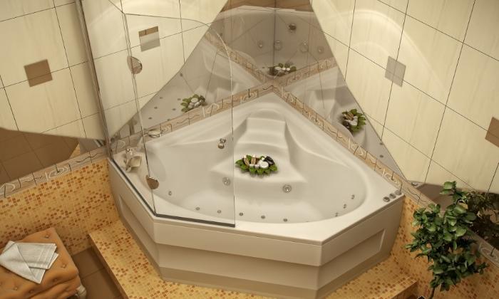 Ванна с гидромассажем