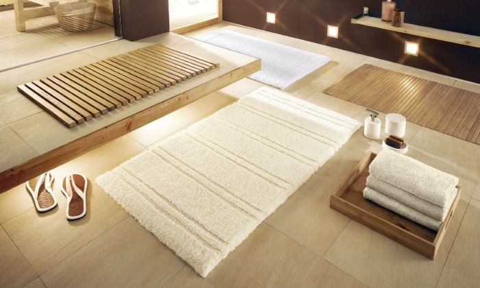 Мягкий коврик для ванной