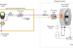 Схема заземления проточного водонагревателя