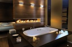Темные цвета в ванной