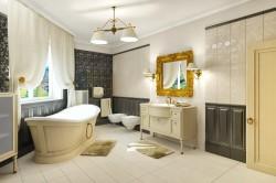 Просторная ванная комната