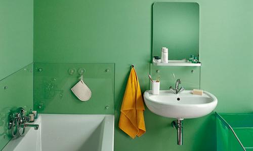 Ванная комната после покраски