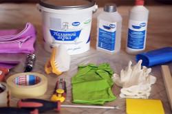 Инструменты и материалы для реставрации ванны