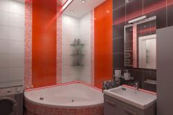 Дизайн крупной ванной
