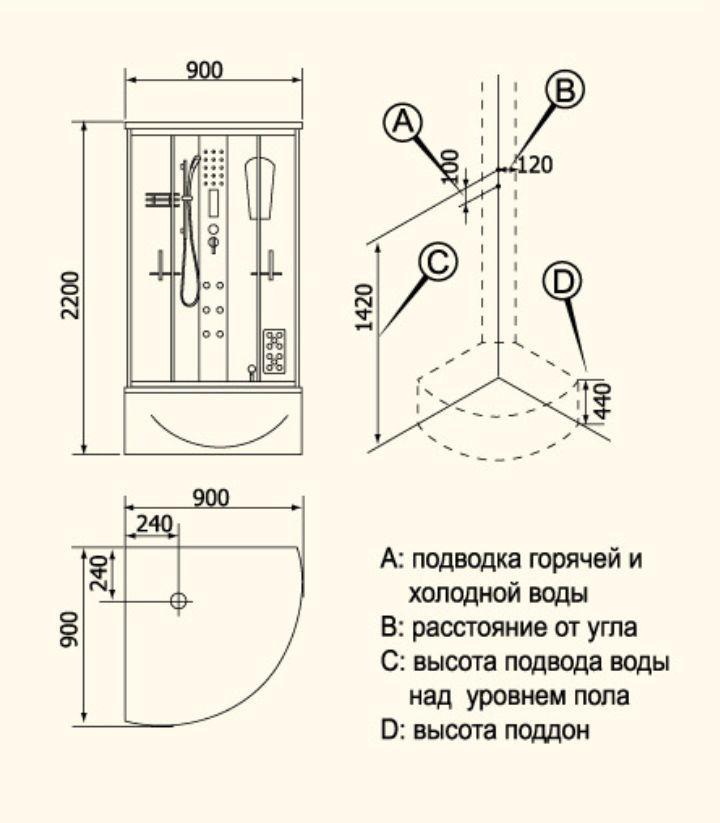 Кабина Душевая Инструкция Установка Kroner