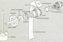 Схема сборки поплавкового клапана