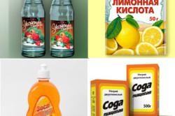Народные средства для очистки кафеля в ванной