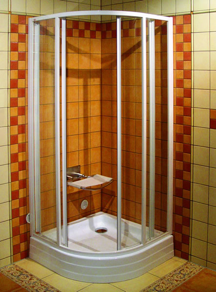 Установка душевой кабины ванной комнаты своими руками