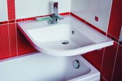 Расположение сантехники в ванной комнате