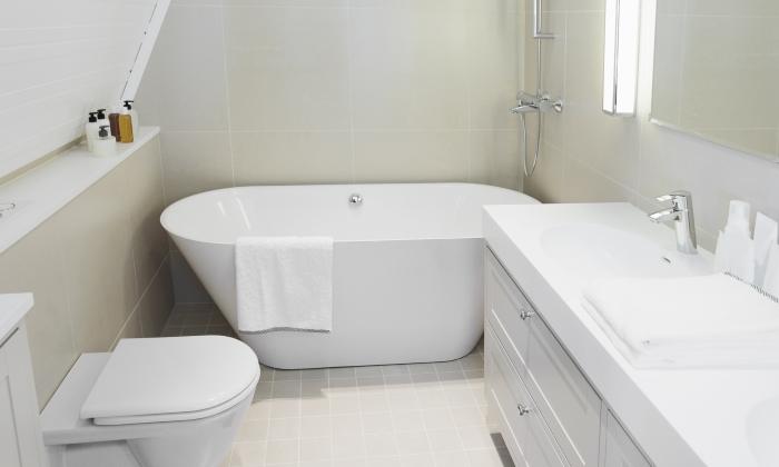 Небольшая ванная