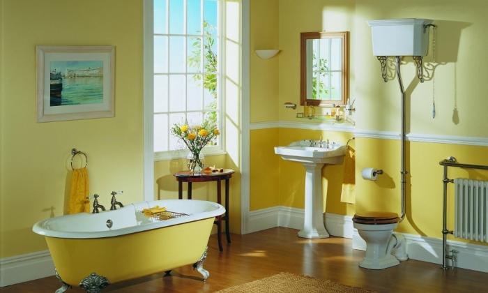 Совмещение кухни и ванной